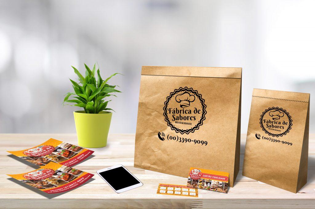 Opções de Embalagens para Delivery | Atual Card